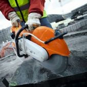 Stihl Concrete Cutters, Cut-Off Saws & Earth Augers